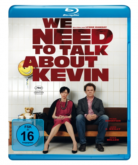 Kino Kontrovers Nr. 13: WE NEED TO TALK ABOUT KEVIN -  Ab 13. August 2013 auf Blu-ray mit Kinoplakat als Artwork.