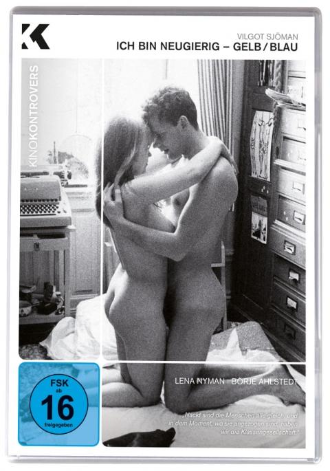 Kino Kontrovers Nr. 5: ICH BIN NEUGIERIG-GELB/BLAU - Ab 26. September 2013 als Nachauflage in weißer Softbox mit Wendecover.