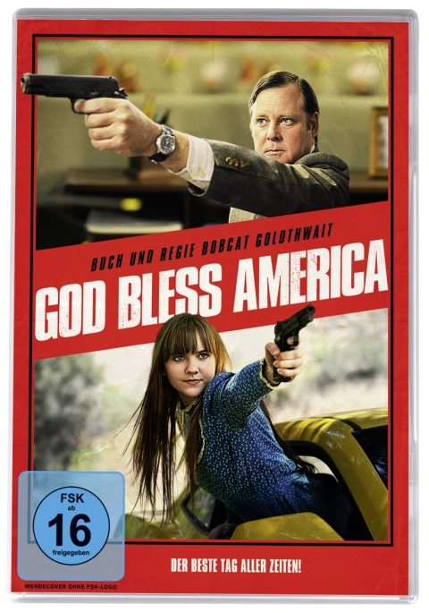 Kino Kontrovers Nr. 14: GOD BLESS AMERICA - Ab 7. November 2013 als Nachauflage in Softbox mit Wendecover.
