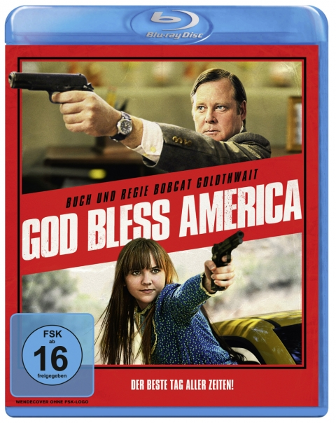 Kino Kontrovers Nr. 14: GOD BLESS AMERICA - Ab 7. November 2013 als Nachauflage auf Blu-ray mit Kinoplakat als Artwork.